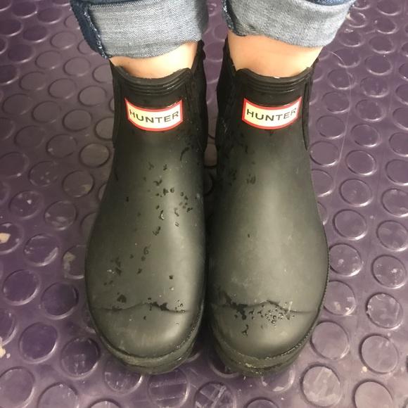 00a695967d5 Low hunter rain boots
